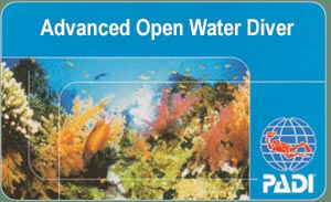PADI Diving Course - AOWD